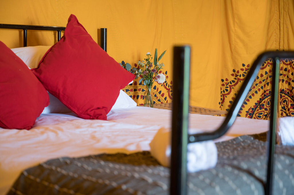 The Big Feastival Bedouin Tent - Yurtel - The Finest Luxury Boutique Camping in the Land