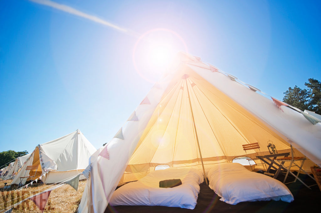 The Big Feastival Classic Bell Tent - Yurtel - The Finest Luxury Boutique Camping in the Land