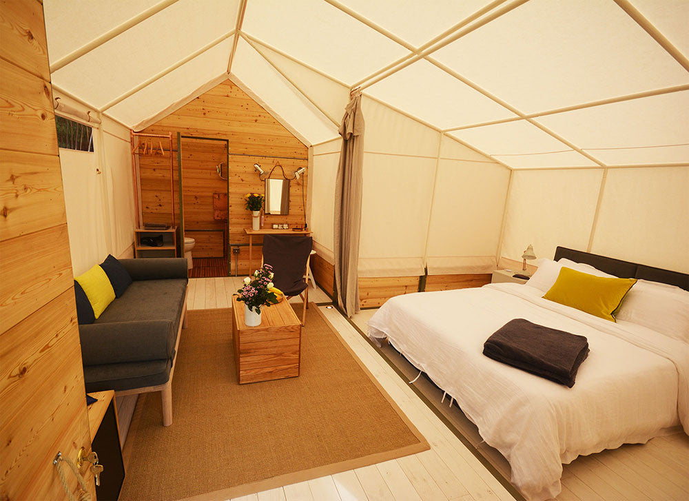 Luxury Suite for 2 - Yurtel - The Finest Luxury Boutique Camping in the Land