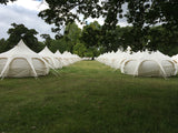 The Big Feastival 5m Lotus Belle Tent - Yurtel - The Finest Luxury Boutique Camping in the Land