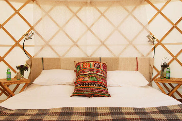 Glastonbury Luxury Yurt - Without Hospitality Tickets - £6900 + VAT - Yurtel - The Finest Luxury Boutique Camping in the Land