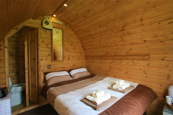 Glastonbury En Suite Hut - Without Hospitality Tickets - £7600 - Yurtel - The Finest Luxury Boutique Camping in the Land