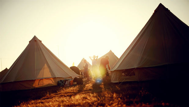 The Big Feastival Mini Bell - Yurtel - The Finest Luxury Boutique Camping in the Land