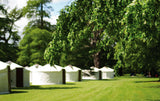 Luxury Yurt glamping at festivals and events.