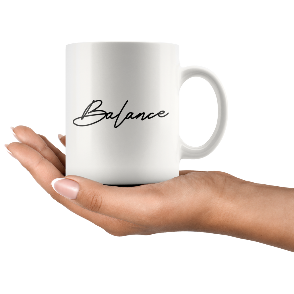 BALANCE | White Coffee Mug