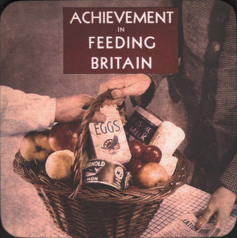 Achievement in Feeding Britain coaster