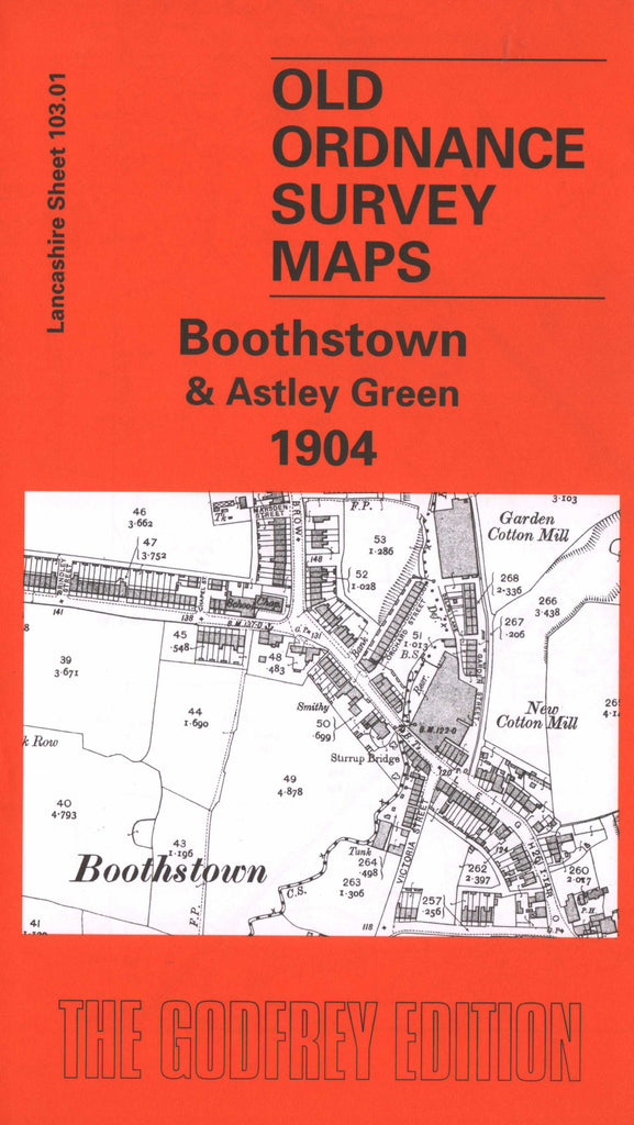 Boothstown 1904 Ordnance Survey Map