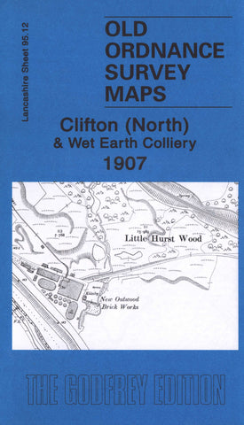 Clifton North 1907 Ordnance Survey Map