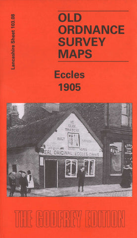 Eccles 1905 Ordnance Survey Map