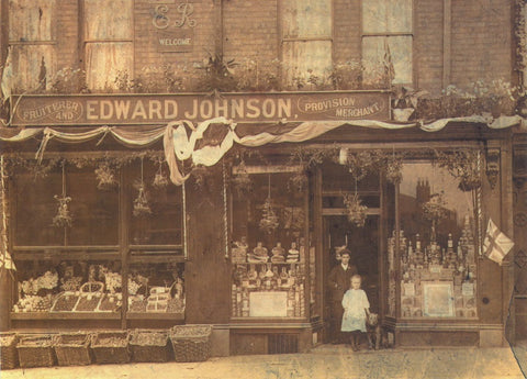Edward Johnson postcard