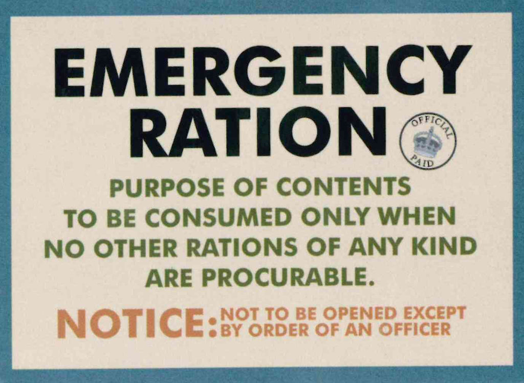 Emergency Ration fridge magnet