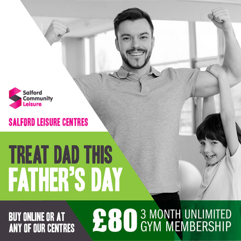 3 Month Gym Membership (Father's Day)
