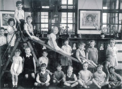Halton Bank Primary School 1937/8 greeting card