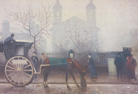 Hansom Cab at All Saints print