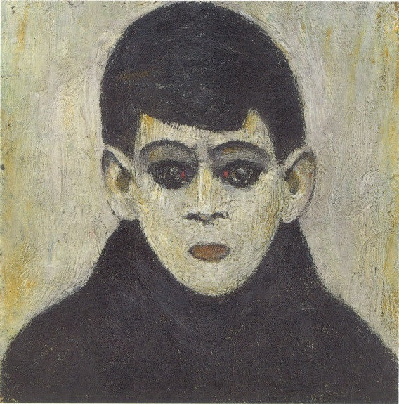 Head of a Boy, c.1960 postcard