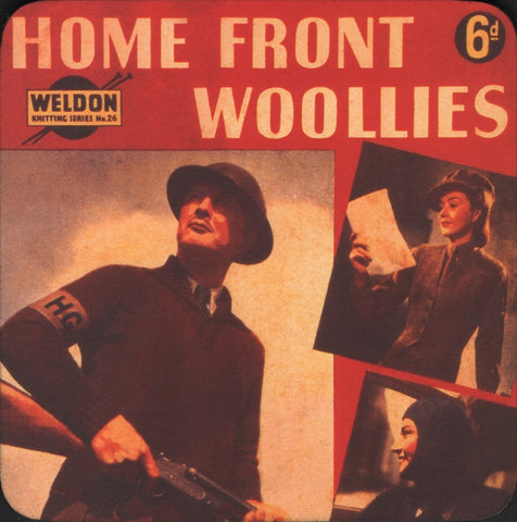 Home Front Woollies coaster