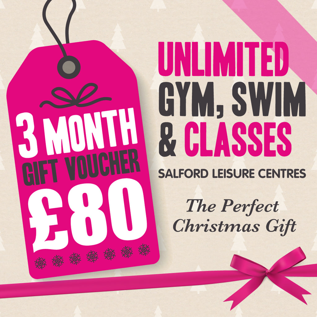 3 Month Gym Membership Gift Voucher