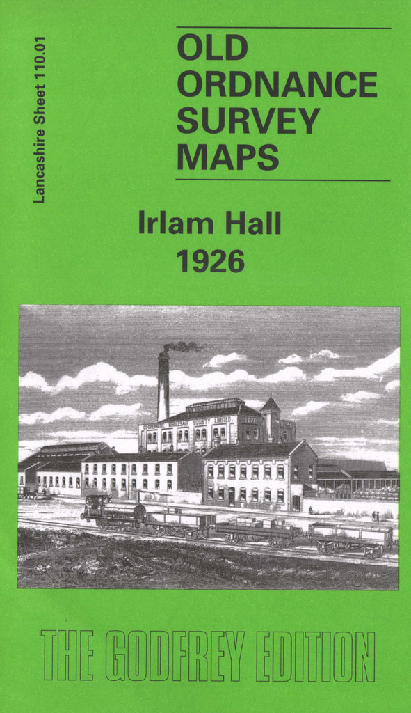 Irlam Hall 1907 Ordnance Survey Map