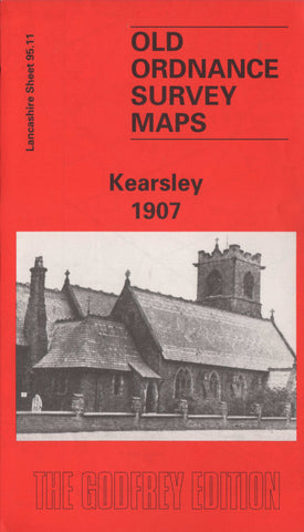 Kearsley 1907 Ordnance Survey Map