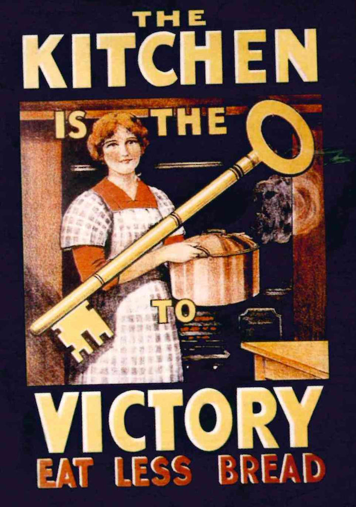 Kitchen is the Victory fridge magnet