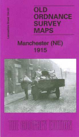 Manchester North East 1915 Ordnance Survey Map