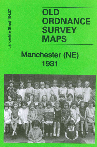 Manchester North East 1931 Ordnance Survey Map