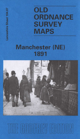 Manchester North East 1891 Ordnance Survey Sheet