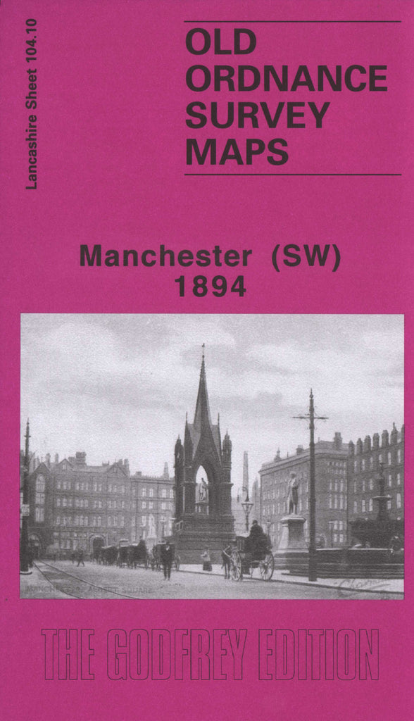 Manchester South West 1894 Ordnance Survey Map