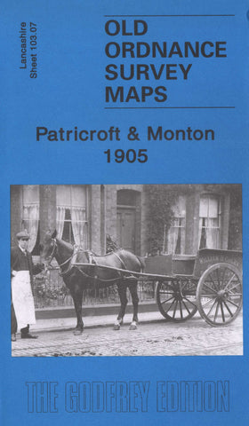 Patricroft 1905 Ordnance Survey Map