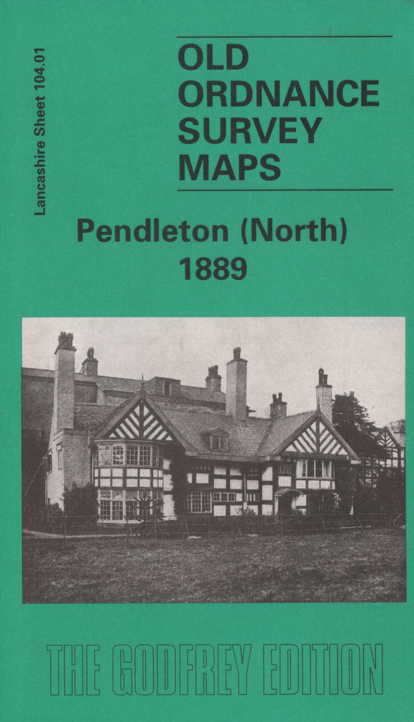 Pendleton North 1889 Ordnance Survey Map