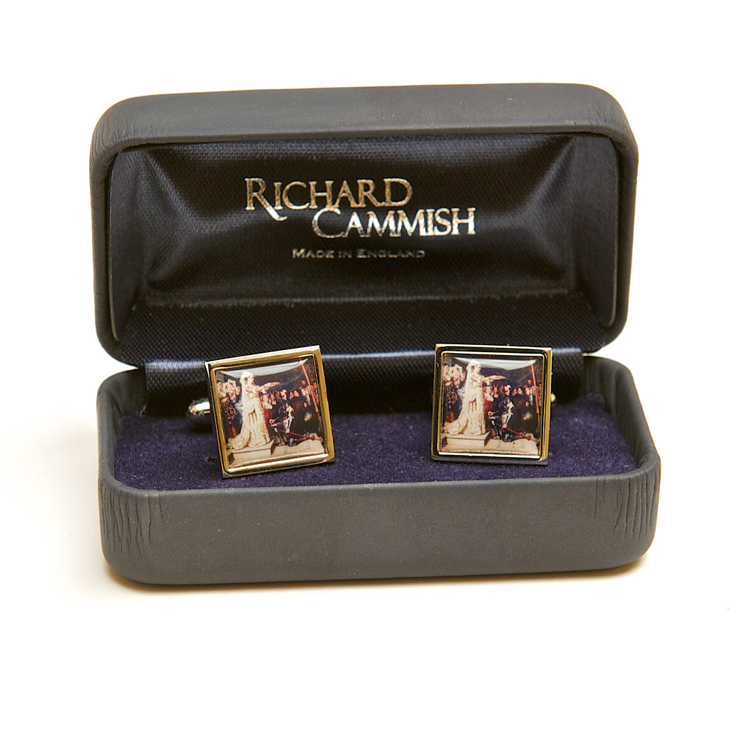 Queen of the Tournament Cufflinks