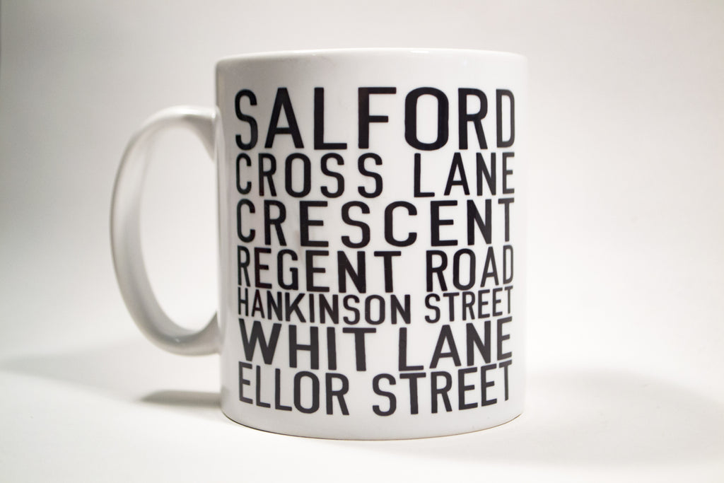 Salford Bus Blind Mug