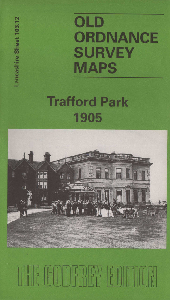 Trafford Park 1905 Ordnance Survey Sheet