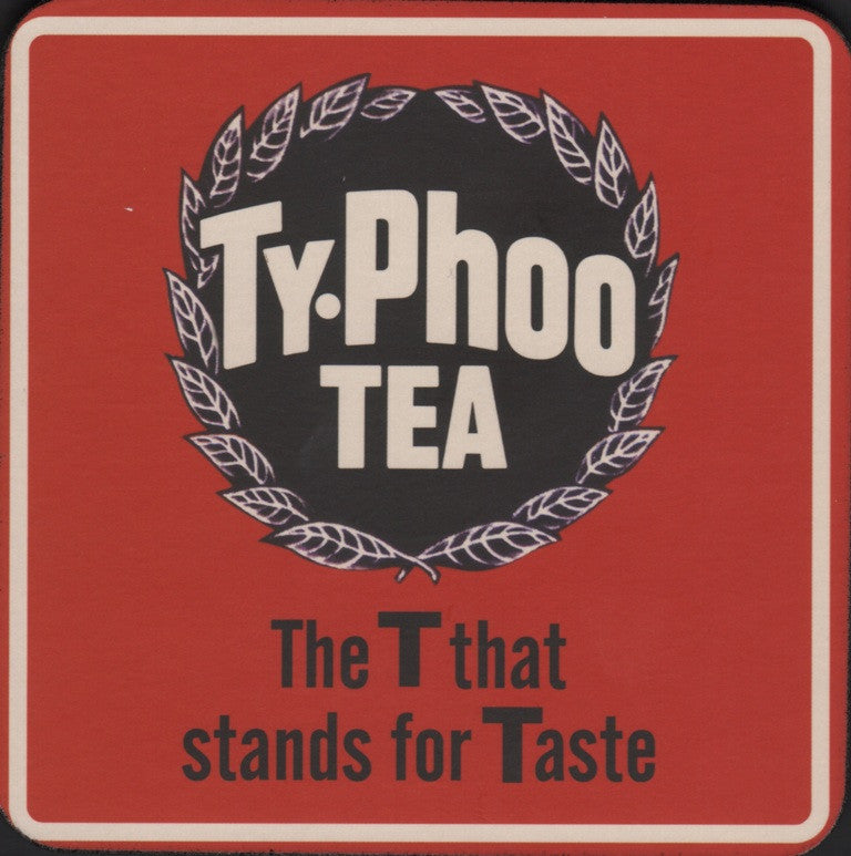 Typhoo Tea coaster
