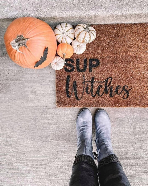 Sup Witches Coir Doormat