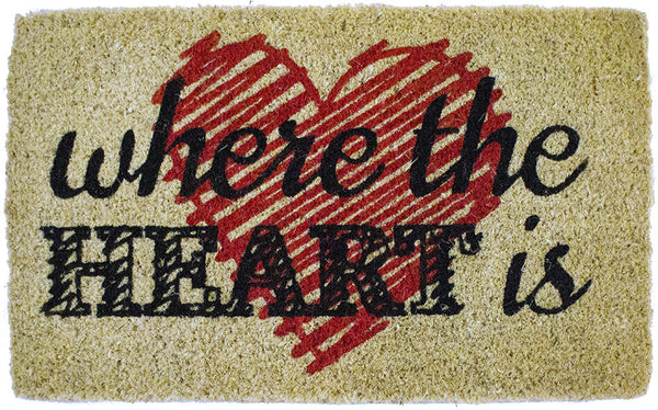HEART IS - COCO DOORMAT