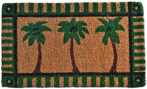 Palm Tree Handwoven Coco Doormat