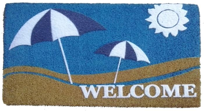***DISCONTINUED*** COCO DOORMAT - SUN AND SAND