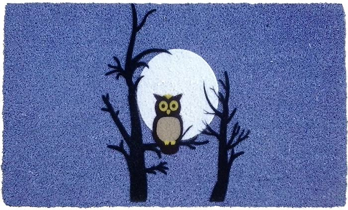 Night Owl PVC Doormat