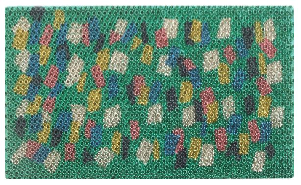 Fiesta Green Design Recycled Rubber Doormat