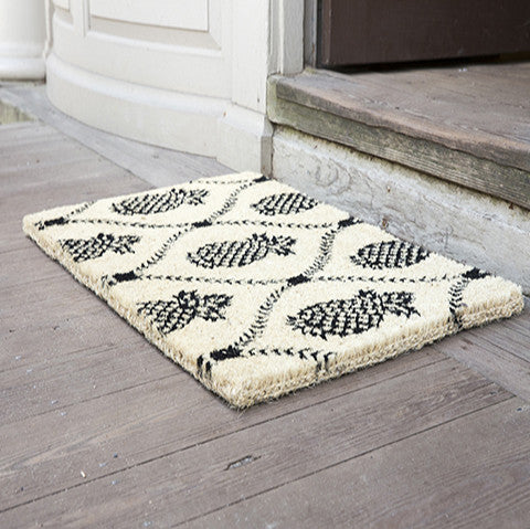 PINEAPPLE TRELLIS - COCO DOORMAT