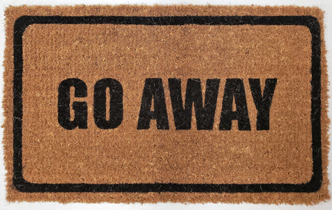 Go Away - Coco Doormat