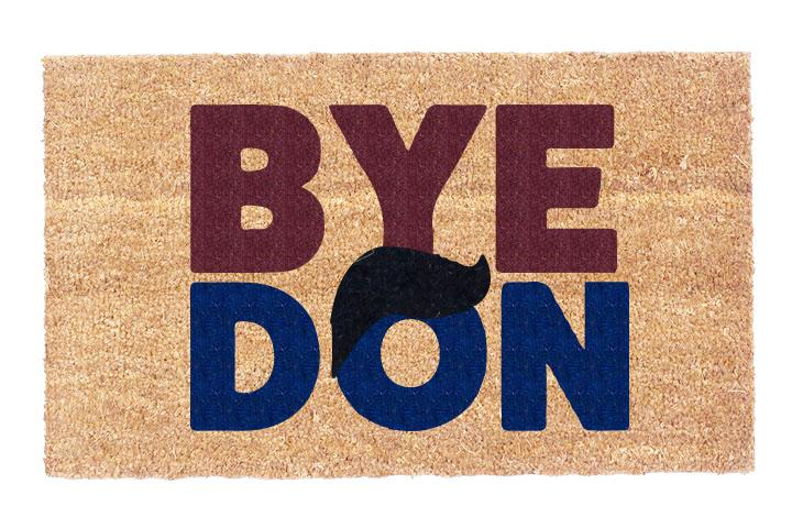 Byedon Hair Coco Doormat