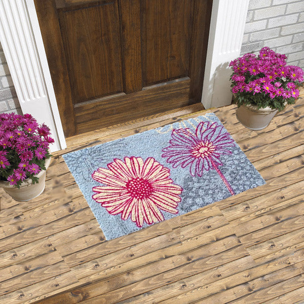 Daisy Drawings - COCO DOORMATS