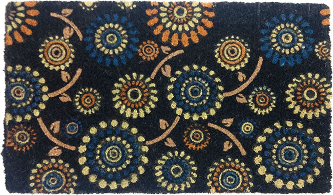 Dark Flowers - Coco Doormat