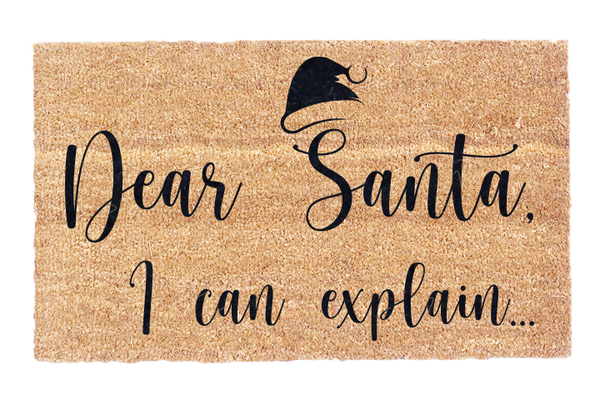 Dear Santa, I Can Explain..