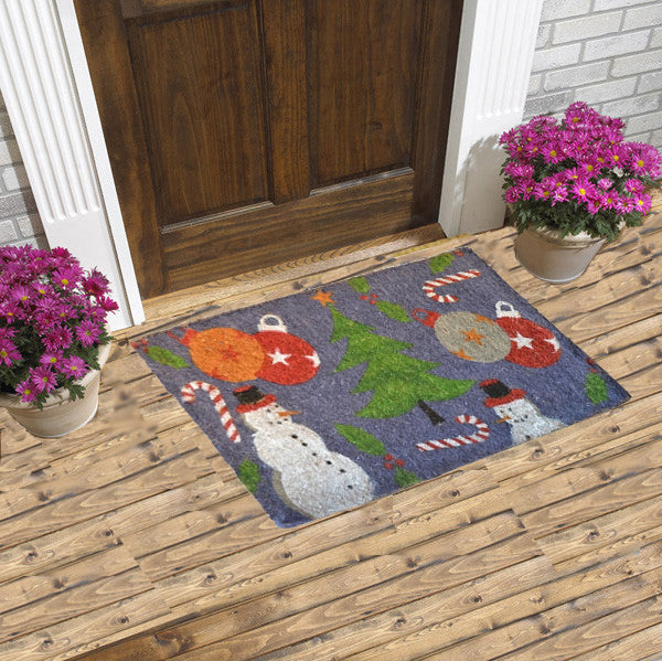 Christmas and hollidays - coco coir doormat