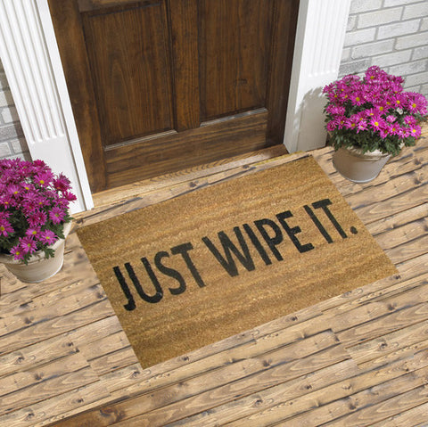 Coir Door mat - Just Wipe it