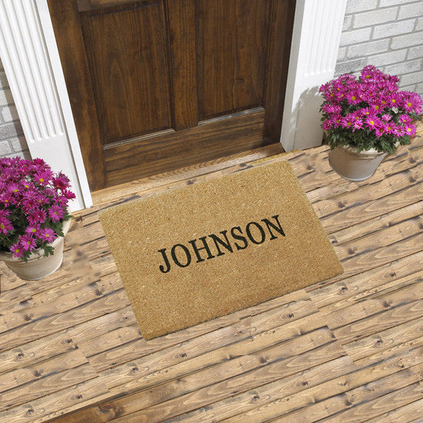 PERSONALIZED DOORMAT - PLAIN COCO - FULL NAME