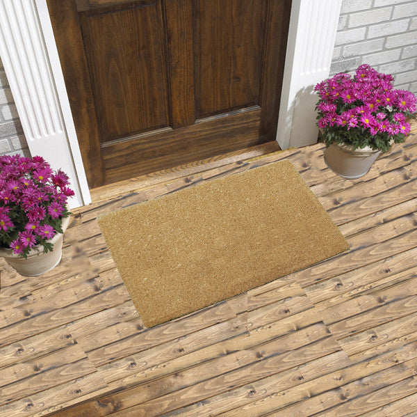 "PLAIN THIN - COCO DOORMATS 1"" THICK"